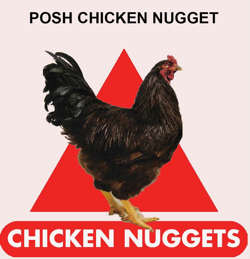 Psychic Burger - Posh Chicken Nugget