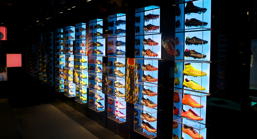various colors f5826 bfdda LARGEST FOOTBALL BOOT COLLECTION HITS CARNABY - London On The Inside