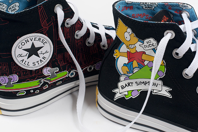 4054a11ba401cb CONVERSE X THE SIMPSONS - London On The Inside