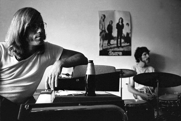 Ray Manzarek & John Densmore, 1970