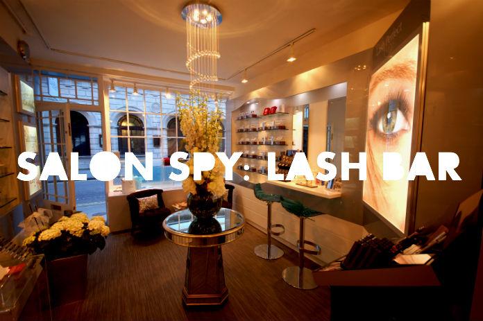 SALON SPY: LASH BAR - London On The Inside