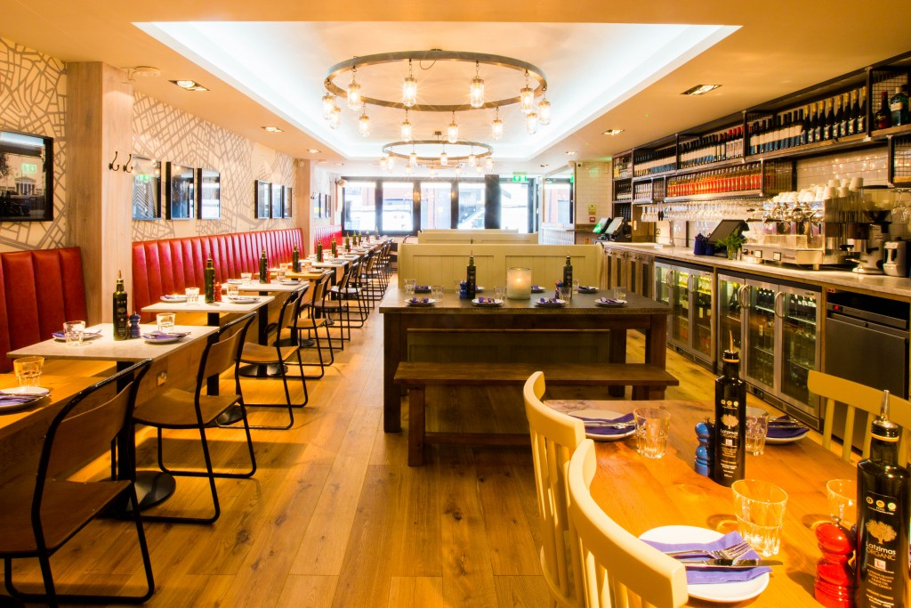 WINE (ON US) AND DINE AT THE REAL GREEK - London On The Inside