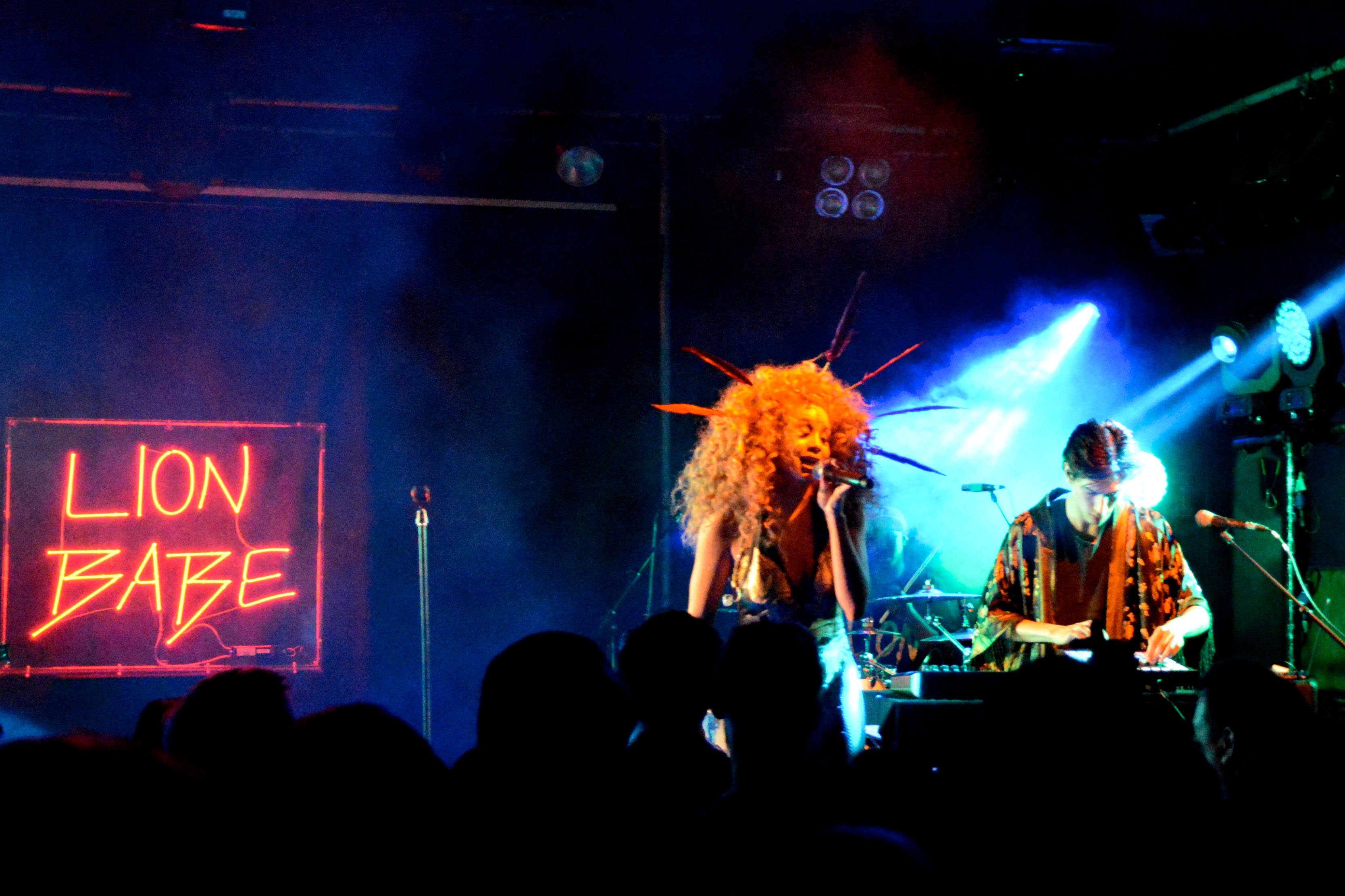Lion Babe at the Scala