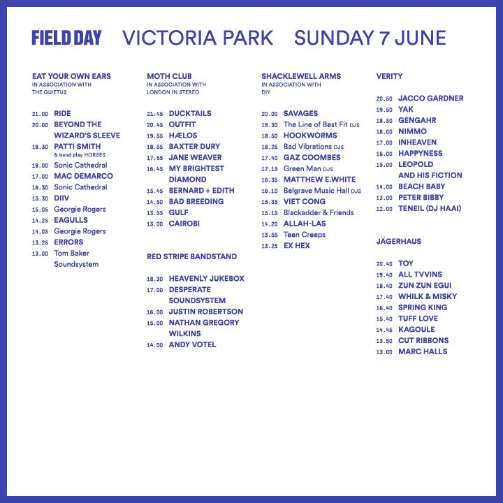 Field Day 2015 SUNDAY LOTI