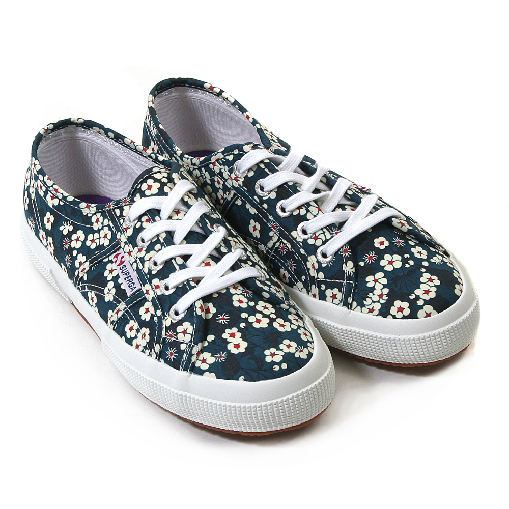 outlet online 50% price closer at SUPERGA X LIBERTY ART FABRICS