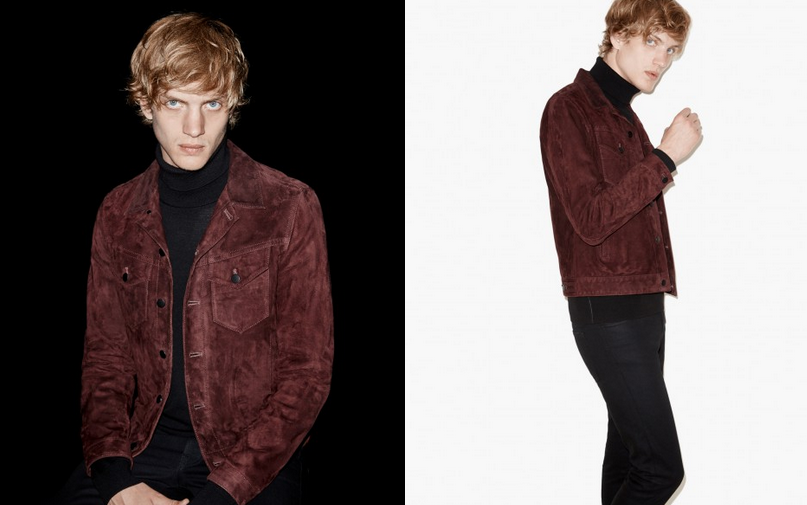 The Kooples Suede Bomber LOTI
