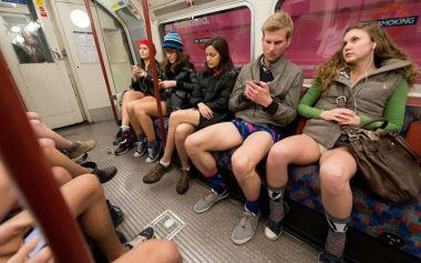 no trousers tube ride 2019