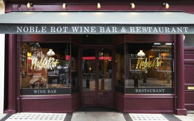 NOBLE ROT IS OPENING IN SOHO