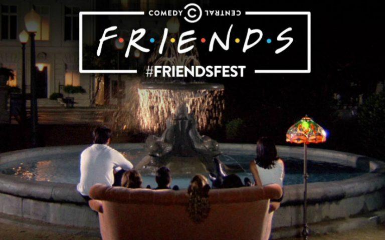 friends fest   london on the inside