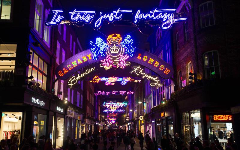 Carnaby Bohemian Rhapsody lights
