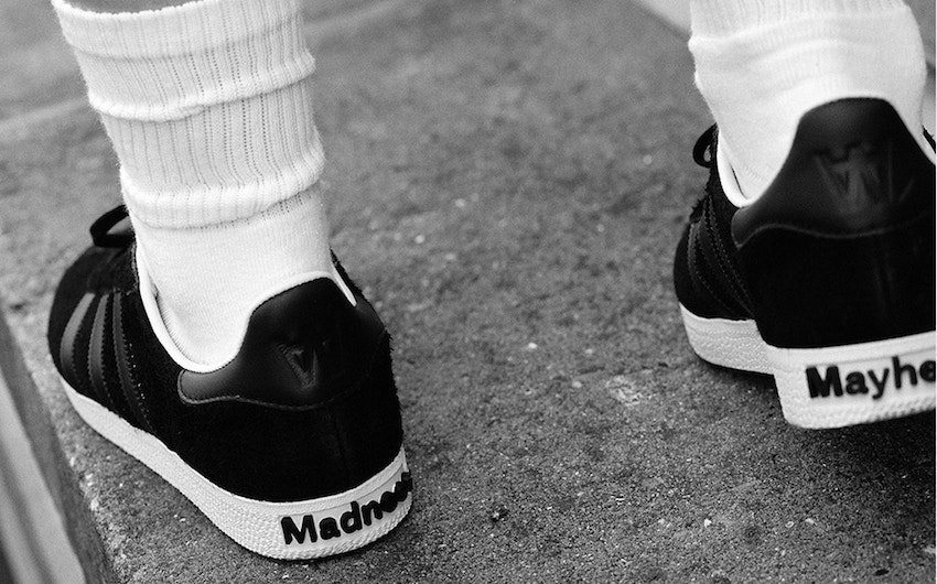 wood wood x adidas originals collab London On The Inside