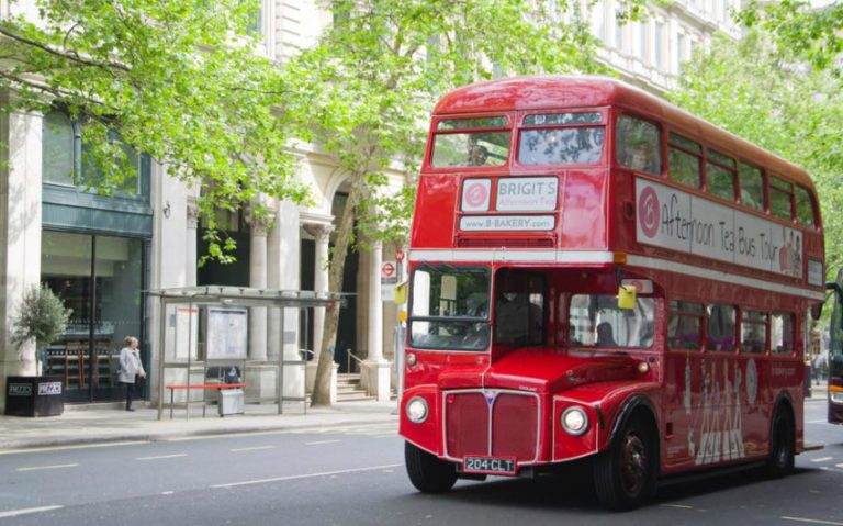 afternoon tea bus tour   london on the inside
