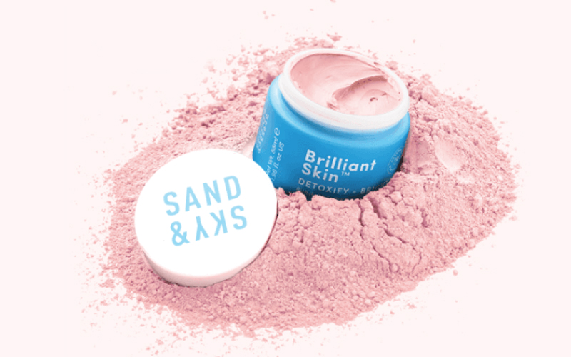 the purifying pink clay mask | London The Inside