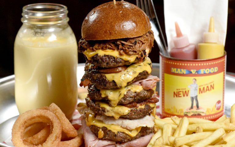man v food challenge | london on the inside