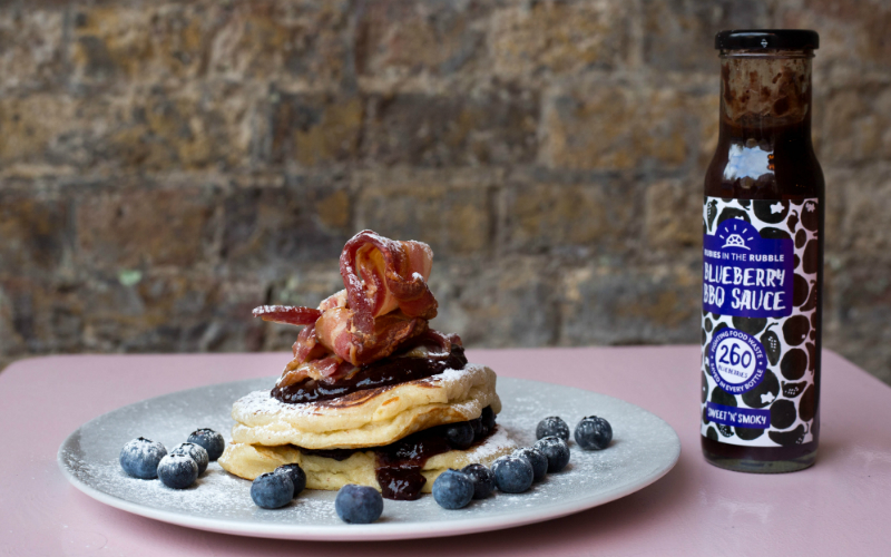 rubies in the rubble pancakes | london on the inside