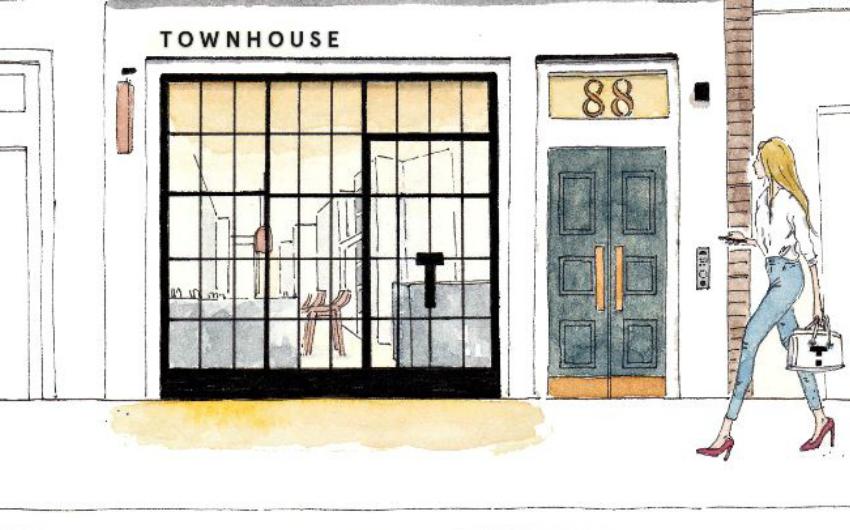 townhouse nail salon | london on the inside