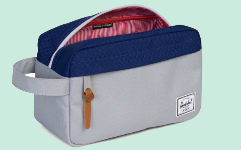 herschel wash bag | london on the inside