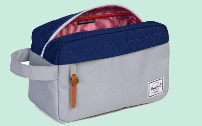 herschel wash bag | london on the inside