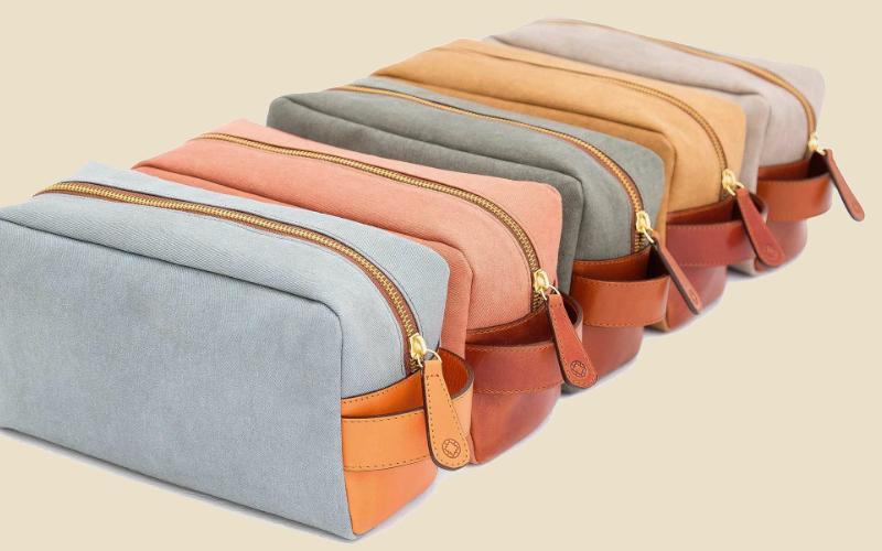 la portegna wash bag | london on the inside