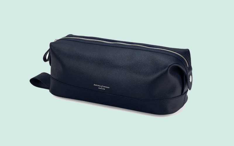 Aspinal wash bag | london on the inside