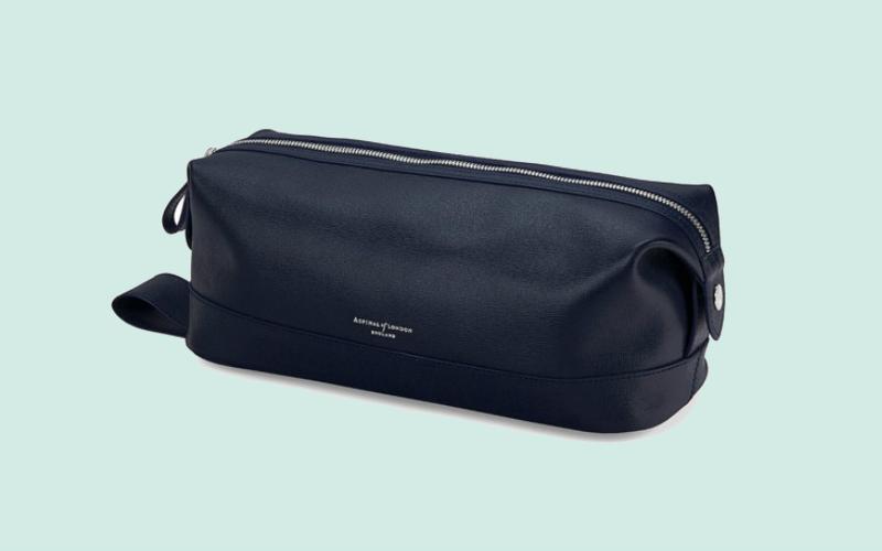 Aspinal wash bag | london on the inside