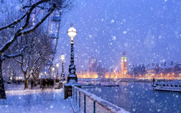 London In The Snow | London On The Inside