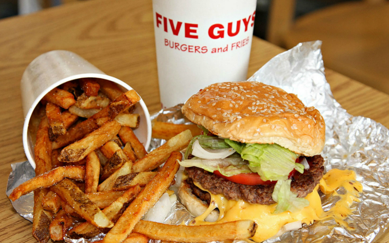 five guys | london on the inside
