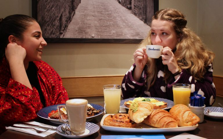 free breakfast carluccios | london on the inside