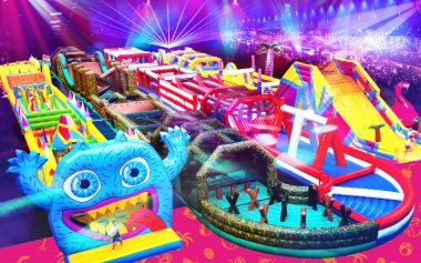 the ultimate inflatable obstacle course is coming to ally pally