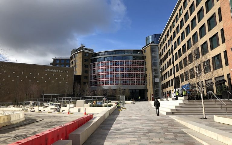 Television Centre   london on the inside