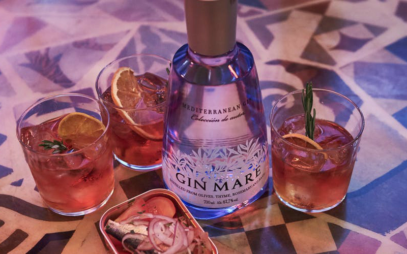 gin mare med transfers | london on the inside
