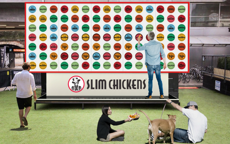 slim chickens | london on the inside