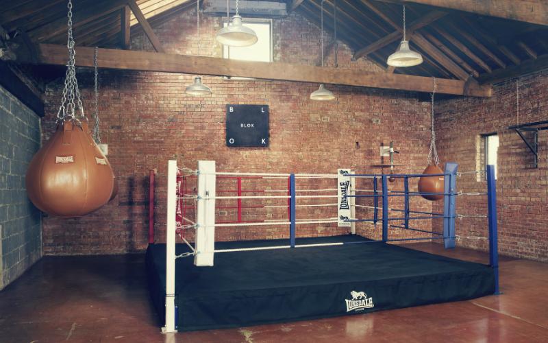 BLOK boxing room