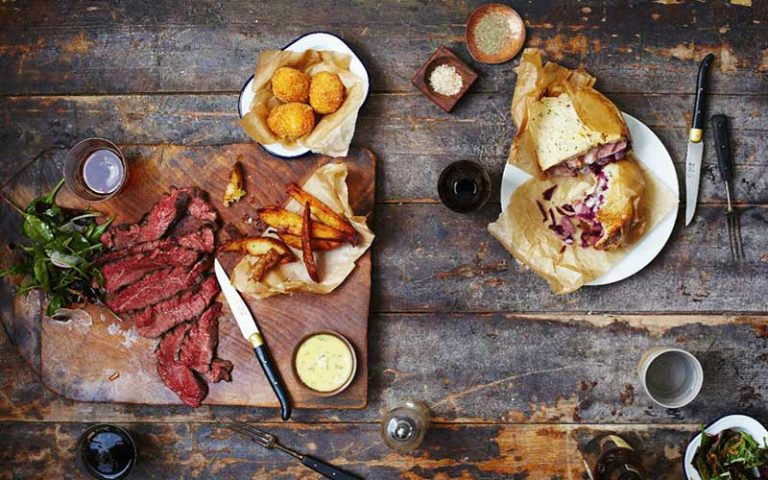 beef & brew | london on the inside