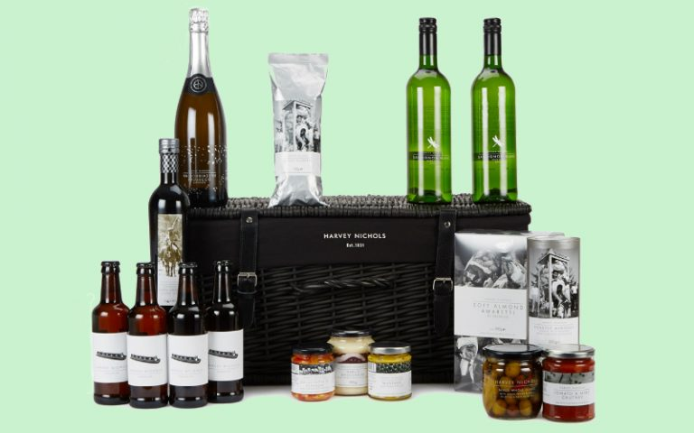 harvey nichols hamper | london on the inside
