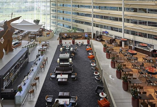 Heathrow Airport's Terminal 4 LOTI