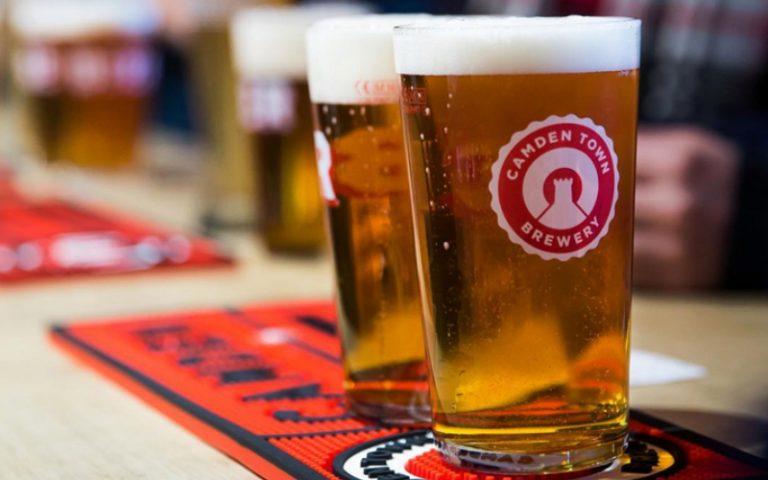 camden town brewery pints