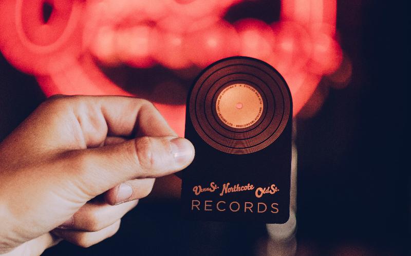 records black card