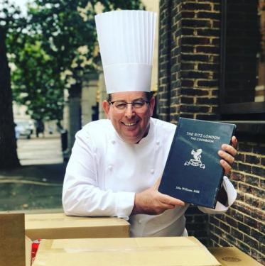Chef John Williams of The ritz