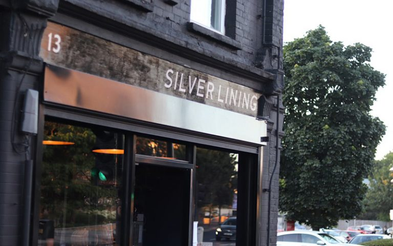 Silver Lining on Morning Lane, Hackney
