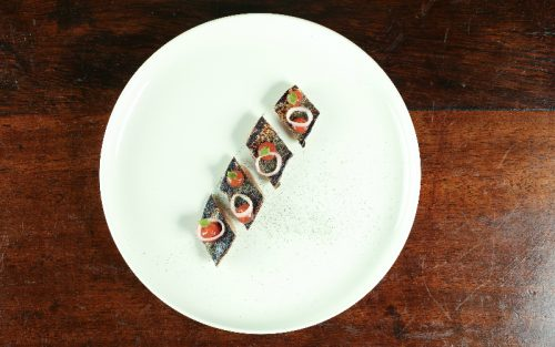 bloody mary mackerel at cora pearl
