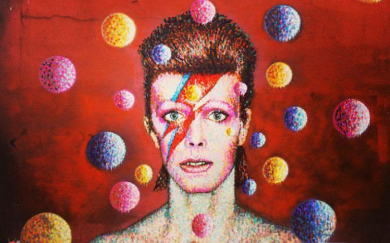 David Bowie Mural Brixton