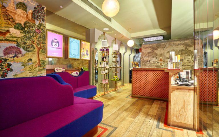 Browhaus Salon Interior