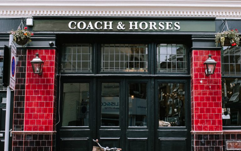 The Coach & Horses Exterior