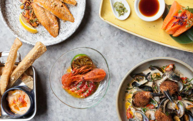 Seafood Spread Wright Bros Soho