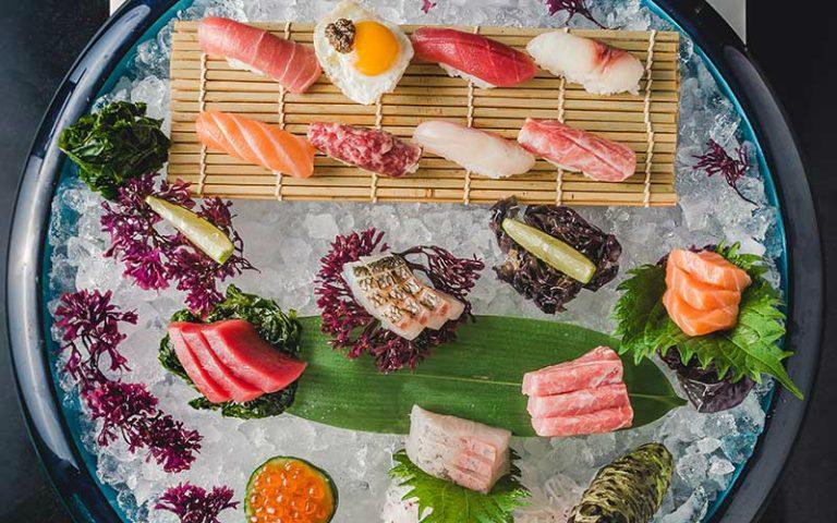 Sushi at Zela