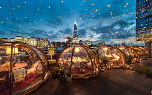 win dinner for 4 at the coppa club igloos