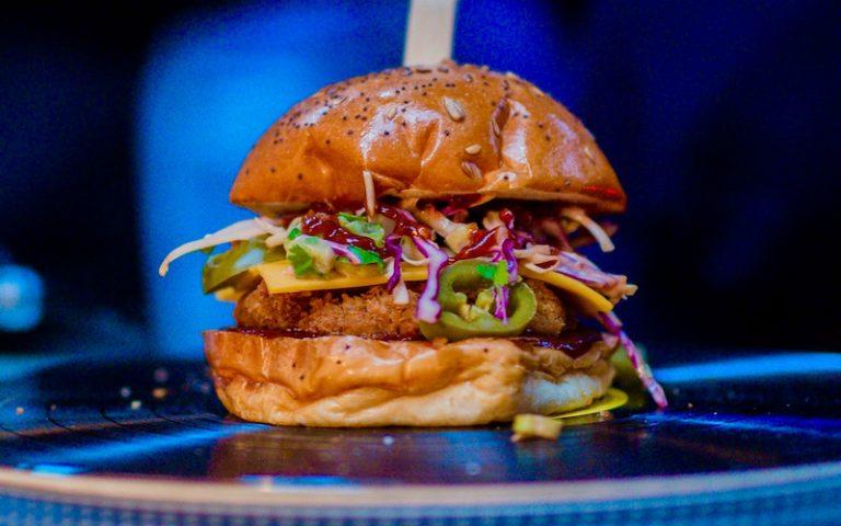 Biff's Jack Shack burger
