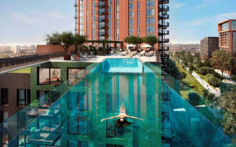 Skypool at Embassy Gardens