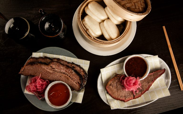 Beef Brisket and Bao Buns